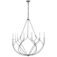 Richmond Large Chandelier Weathered Galvanized