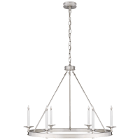 Launceton Ring Chandelier in Polished Nickel