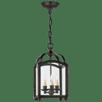 Arch Top Mini Lantern in Bronze