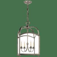Arch Top Medium Lantern in Antique Nickel