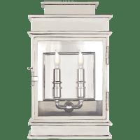 Linear Lantern Short in Polished Nickel