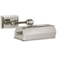"""Dorchester 8"""" Picture Light in Polished Nickel"""