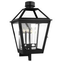 Hyannis Extra Large Lantern Textured Black