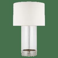 Garrett Table Lamp Polished Nickel Bulbs Inc