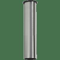 """36""""MinimalistDownrod- Brushed Steel"""