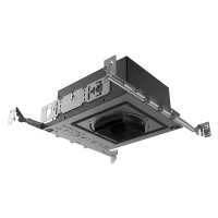 "3"" ELEMENT New Construction Adjustable Square Flangeless Housing LED Warm Dim, 40, Low Output"