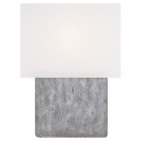 Brody Table Lamp Grey Weathered Steel Bulbs Inc