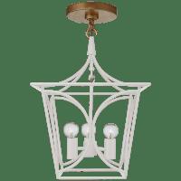 Cavanagh Mini Lantern in Light Cream and Gild
