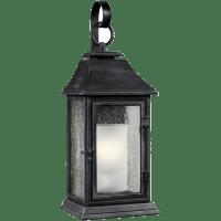 Shepherd Large Lantern Dark Weathered Zinc