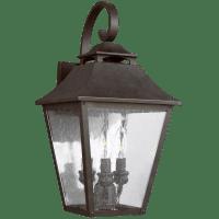 Galena Medium Lantern Sable