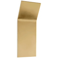 Bend Large Tall Light in Natural Brass