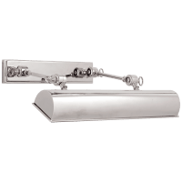 """Anette 16"""" Picture Light in Polished Nickel"""