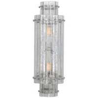Cadence Large Tiered Sconce in Polished Nickel with Antique Mirror