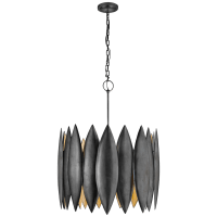 Hatton Large Chandelier in Aged Iron
