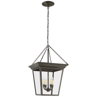 Cornice Small Lantern in Bronze