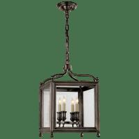 Greggory Small Lantern in Bronze
