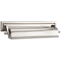 "Library 16"" Picture Light in Polished Nickel"