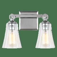 Monterro 2 - Light Vanity Chrome