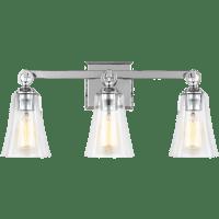 Monterro 3 - Light Vanity Chrome