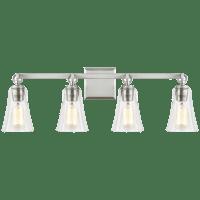 Monterro 4 - Light Vanity Satin Nickel
