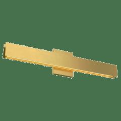 Bau 24 Bath natural brass 3000K 90 CRI led 90 cri 3000k 120v