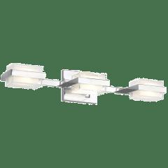 Kamden 3-Light Bath  3 Shallow chrome 3000K 90 CRI led 90 cri 3000k 120v