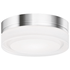 Cirque Small Flush Mount Small chrome 3000K 90 CRI led 90 cri 3000k 120v