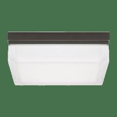 Boxie Large Outdoor Wall/Flush Mount Large bronze 3000K 90 CRI
