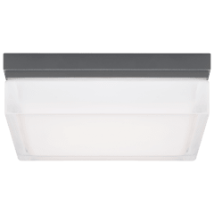 Boxie Large Outdoor Wall/Flush Mount Large charcoal 3000K 100 CRI