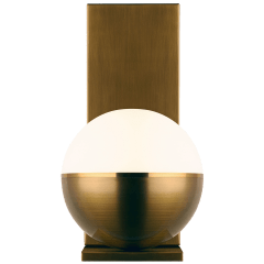 Akova Wall Aged Brass/Bright Brass 2700K 90 CRI  led 90 cri 2700k 120v