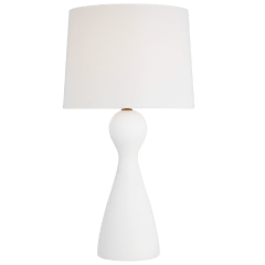 Constance Table Lamp Textured White Bulbs Inc