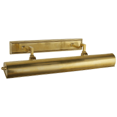 """Dean 24"""" Picture Light in Natural Brass"""