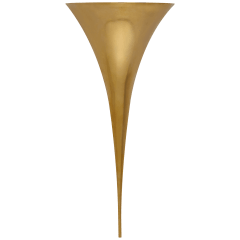 Alina Tail Sconce in Hand-Rubbed Antique Brass