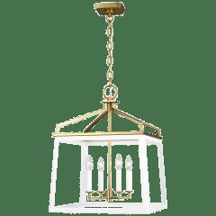 Carlow Large Lantern Matte White