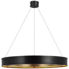 """Connery 40"""" Ring Chandelier in Bronze"""