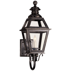 Chelsea Small Lantern in Bronze