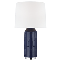 Morada Medium Table Lamp Indigo Bulbs Inc