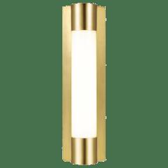 Loring Small Vanity Burnished Brass Bulbs Inc