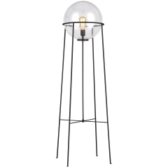 Atlas Floor Lamp Aged Iron Bulbs Inc