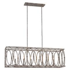 Patrice Linear Chandelier Deep Abyss