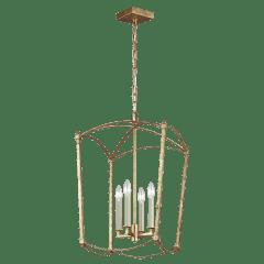 Thayer Medium Lantern Antique Gild