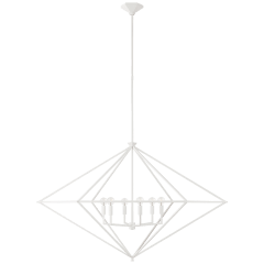 Afton Grande Lantern in Plaster White