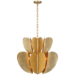 Danes Two Tier Chandelier in Gild