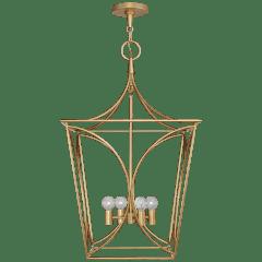 Cavanagh Medium Lantern in Gild