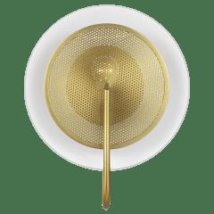 Gesture Sconce / Flush Mount Burnished Brass