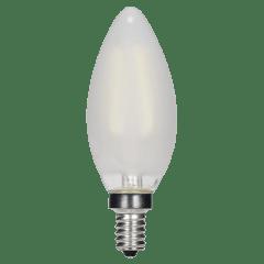 3.5W C11 Frosted LED Dimmable E12 2700K 350lm 120V Candelabra base