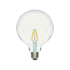 8W G40 Clear LED Dimmable E26 3000K 800lm Medium Base