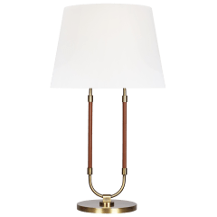 Katie Table Lamp Time Worn Brass Bulbs Inc