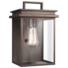 Glenview Small Lantern Antique Bronze