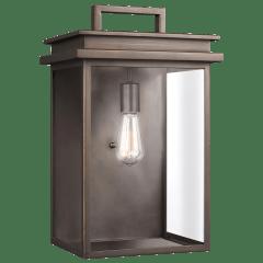 Glenview Large Lantern Antique Bronze